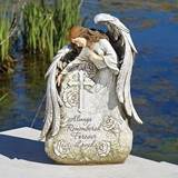 "16"" Memorial Stone with Angel"