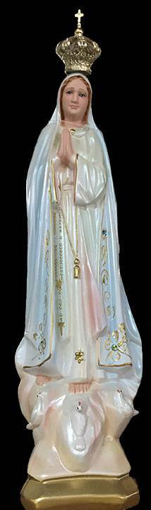 "16"" Our Lady Of Fatima Statue from Italy"