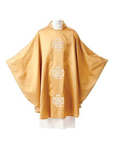 165 Seda Gold Chasuble - Manantial