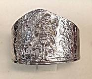 1661 Sterling Silver Ring  Made In Italy