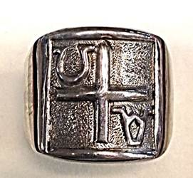 1680 Sterling Silver Ring  Made In Italy