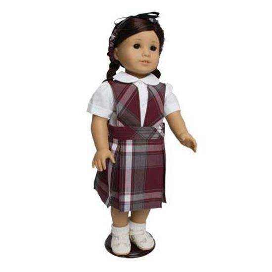"18"" Doll Uniform Style #74, Pick Your Plaid american girl uniform, american girl school uniform, 18"" doll school uniform, american girl plaid jumper, american girl plaid uniform, american girl doll dress, american girl clothes, american girl school clothes, american girl school uniforms, american girl doll dresses, american girl plaid dresses, sjf"