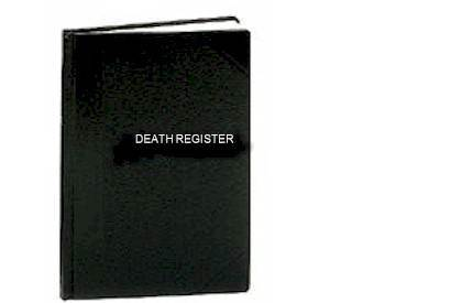 Death Register-Small Edition