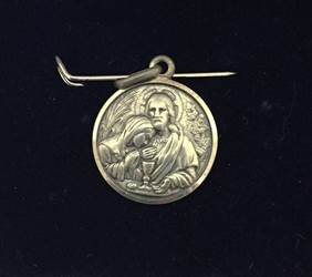 1st Communion Sterling Silver Medal Only
