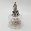 "2.5"" Our Lady of Fatima Statue on Rosary Case"