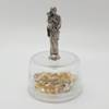 "2.5"" St. Joseph Statue on Rosary Case"