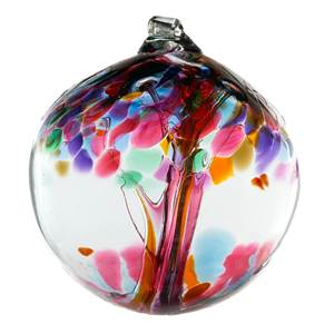 Glass Friendship Ornament