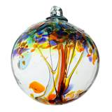 "2"" Blown Glass Happiness Ornament"