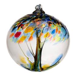 "2"" Blown Glass Hope Ornament"