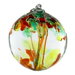 "2"" Blown Glass Sisters Ornament"