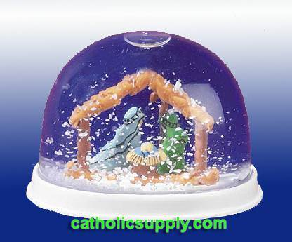"2"" Nativity Waterglobe"