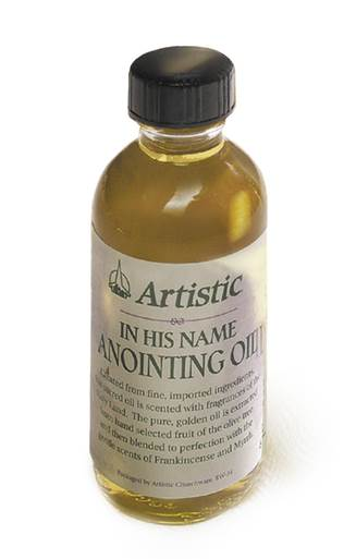 2 oz. Scented Anointing Oil