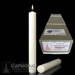 "2"" x 17"" Beeswax Altar Candles APE"