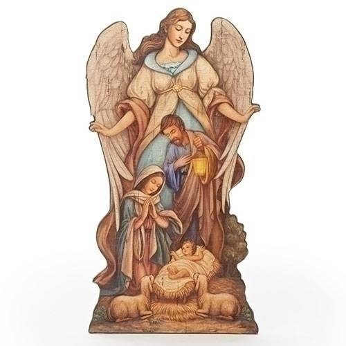 Holy Family Floor Plaque