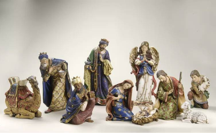 "20"" Scale 10 Piece Nativity"