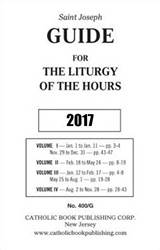 2017 Guide for Liturgy of the Hours *LARGE PRINT*