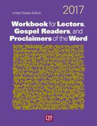 2017 Workbook for Lectors, Gospel Readers, and Proclaimers of the Word  lectors workbook, workbook for readers, gospel, liturgy of the word assistance, lector helper, 978-1-61671-091-0, 9781616710910,quantity discounts,