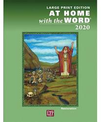 2020 At Home With The Word -Large Print