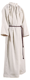 211 Abbey Brand Monastic Flax Server Alb- No Hood