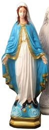 "24"" Our Lady of Grace, Full Color, Outdoor Statue"