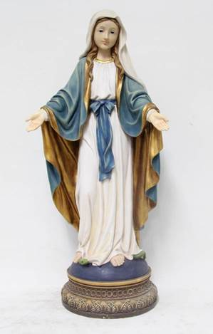 "24"" Our Lady of Grace Statue, Heaven's Majesty"