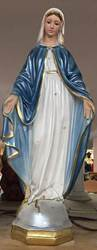 "24"" Our Lady of Grace Statue Pearlized"