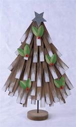 "25"" Rustic Wooden Christmas Tree"