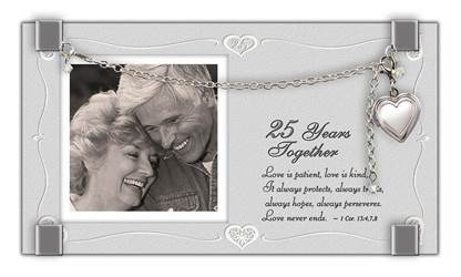 25th Anniversary Locket Frame
