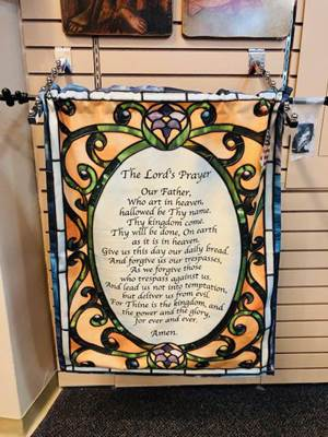 26 X 36 Lord's Prayer Wallhanging