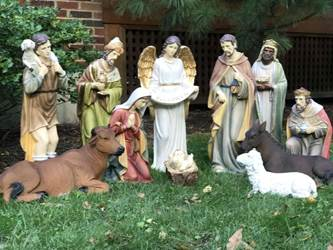 "27"" 12 pc Heavens Majesty Nativity Set with Removable Jesus  Outdoor nativity set, yard nativity, lawn nativity, large scale nativity set, large nativity, outdoor nativity, outdoor nativities, nativity set, christmas nativity, large nativity, outdoor nativity, indoor nativity, church nativity, home nativity, zy15891,xmas15l"
