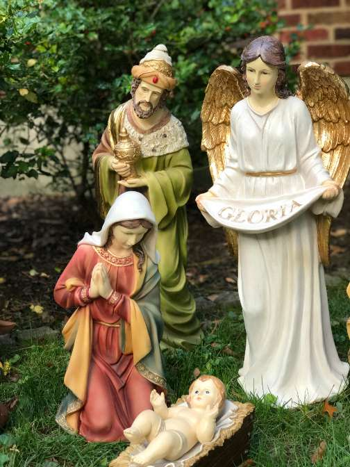 "27"" 12 pc Heaven's Majesty Nativity Set with Removable Jesus *ORDERS FOR FALL 2018 DELIVERY ACCEPTED NOW* - 53374"