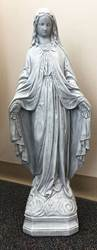 "27"" Blessed Mother Concrete Statue"