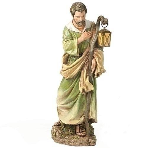 "27"" Scale Colored St. Joseph Statue"
