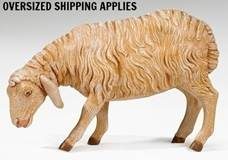 "27"" Scale Fontanini Standing Sheep"