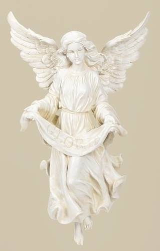 "27"" Scale Gloria Angel JS27, angels figure, angels nativity, nativity statue,angel statue, christmas gift, holiday gift, home decor, church decor, 25043, angel with stand"