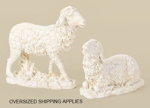 "27"" Scale Sheep Figures"