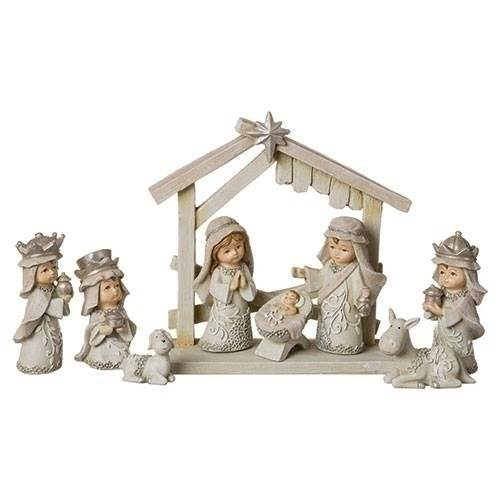 "3"" 9 Piece Nativity"