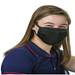 3-Ply Black Face Mask, Youth & Adult Sizes