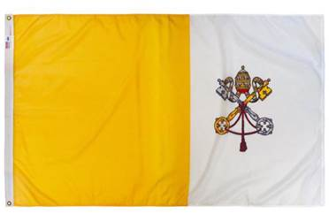 3 X 5 Outdoor Papal Flag
