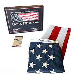 3 X 5 Outdoor U.S. Flag Nyl-Glo Colorast Nylon 002460