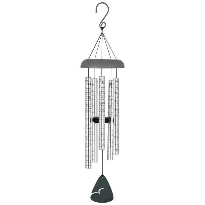 "30"" 23Rd Psalm Windchime 23rd psalm, 23 psalm, twenty third psalm, wind chime, prayer windchime, prayer wind chime, outdoor chimes"