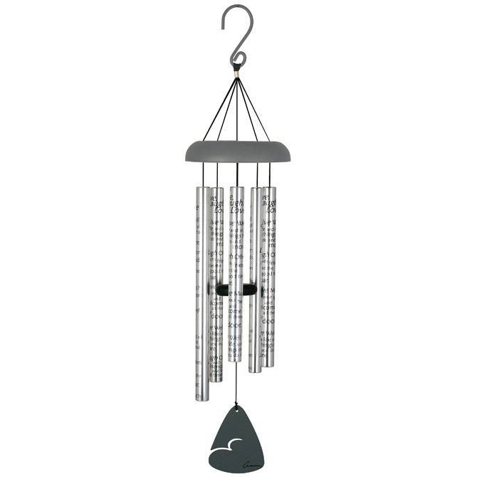 "Live Laugh Love Windchime 30"" friend gift, love windchime, love gift, live, laugh, love, windchime, wind chime, outdoor chimes"