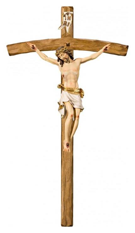 "31"" Pisa Bent Crucifix"