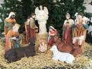 "32"" Large Scale Fiberglass Nativity Set yard nativity, lawn nativity, large scale nativity set, large nativity, outdoor nativity, outdoor nativities, nativity set, christmas nativity, large nativity, outdoor nativity, indoor nativity, church nativity, home nativity,ZY16092"