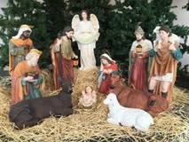 "32"" Large Scale Fiberglass Nativity Set  ** Free Shipping ** yard nativity, lawn nativity, large scale nativity set, large nativity, outdoor nativity, outdoor nativities, nativity set, christmas nativity, large nativity, outdoor nativity, indoor nativity, church nativity, home nativity,ZY16092"