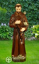"32"" St. Francis Statue, Colored"