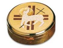 3255 Lamb with Cross Pyx