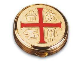 3275 Pyx with Red Cross