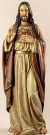 "Sacred Heart of Jesus 37.5"" Statue"