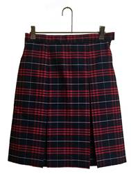 #37 Box Pleat Uniform Skirt 13437, 3437 skirt, 34 style skirt, #37 plaid, 37 uniform plaid skirt, 37 uniform plaid, girls plaid uniform skirt, hamilton, hamilton plaid, dennis hamilton, dennis hamilton plaid